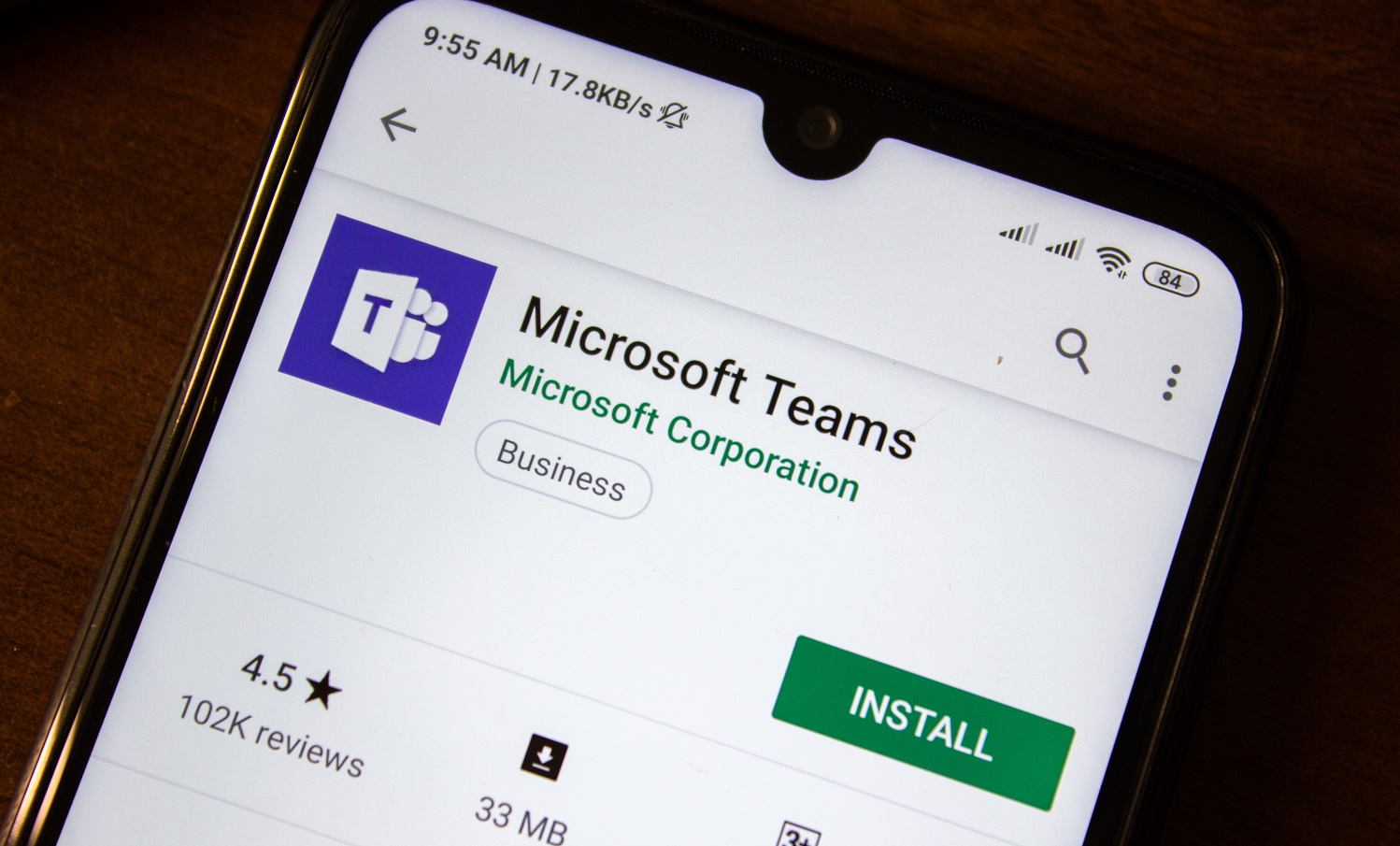 Application Microsoft Teams