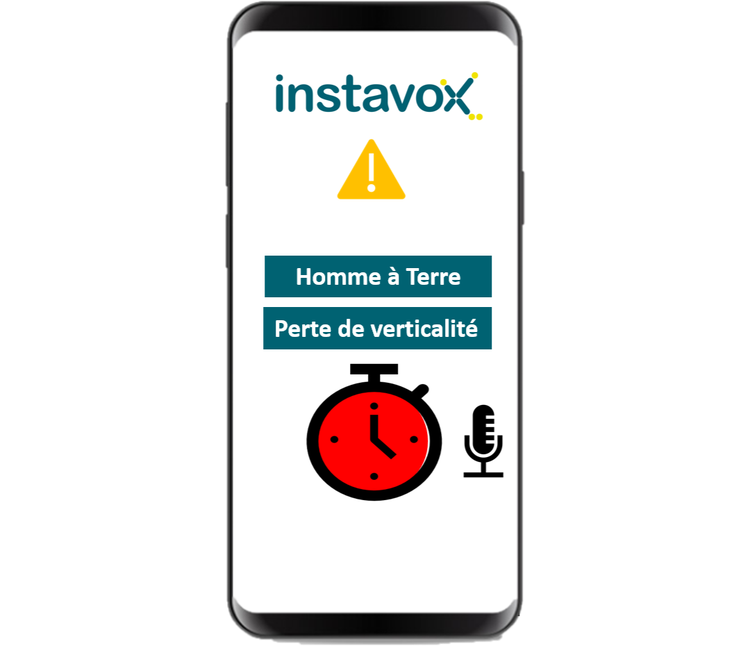 Application Talkie-Walkie - Protection du Travailleur Isole - PTI